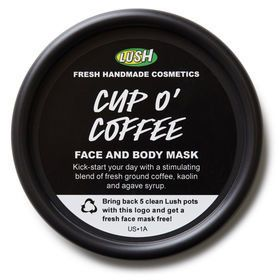 "<strong><a href=""https://www.lushusa.com/face/masks/cup-o-coffee/9999905552.html"" target=""_blank"">Lush Cup O' Coffee Face And"
