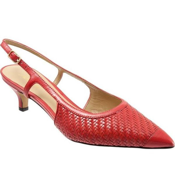 "Get them at <a href=""https://shop.nordstrom.com/s/trotters-kimberly-woven-leather-slingback-pump-women/3959310?origin=keyword"