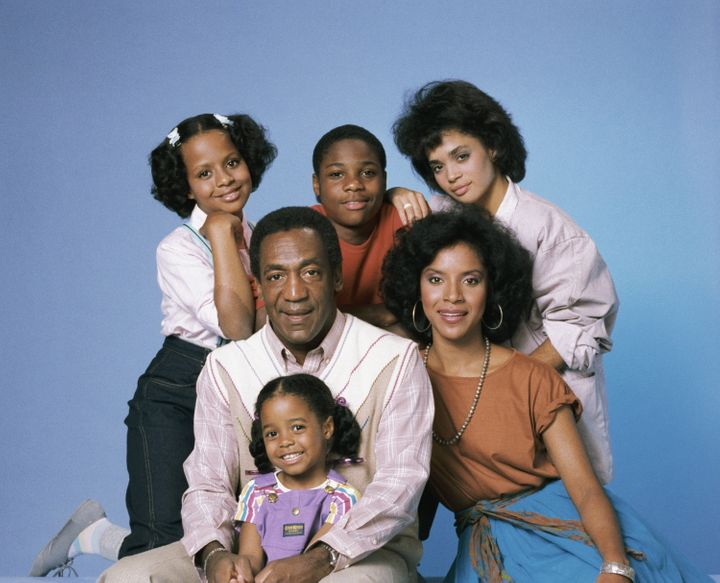 "The cast of ""The Cosby Show"" for season 1: (clockwise from top left) Tempestt Bledsoe as Vanessa Huxtable, Malcol"