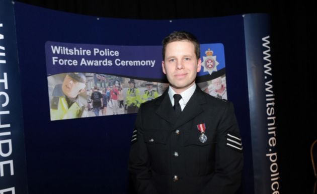 Detective Sergeant Nick Bailey has said he 'does not consider himself a hero'.
