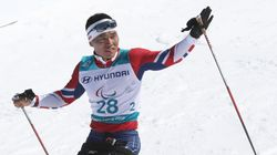 평창동계패럴림픽 한국 첫 메달이