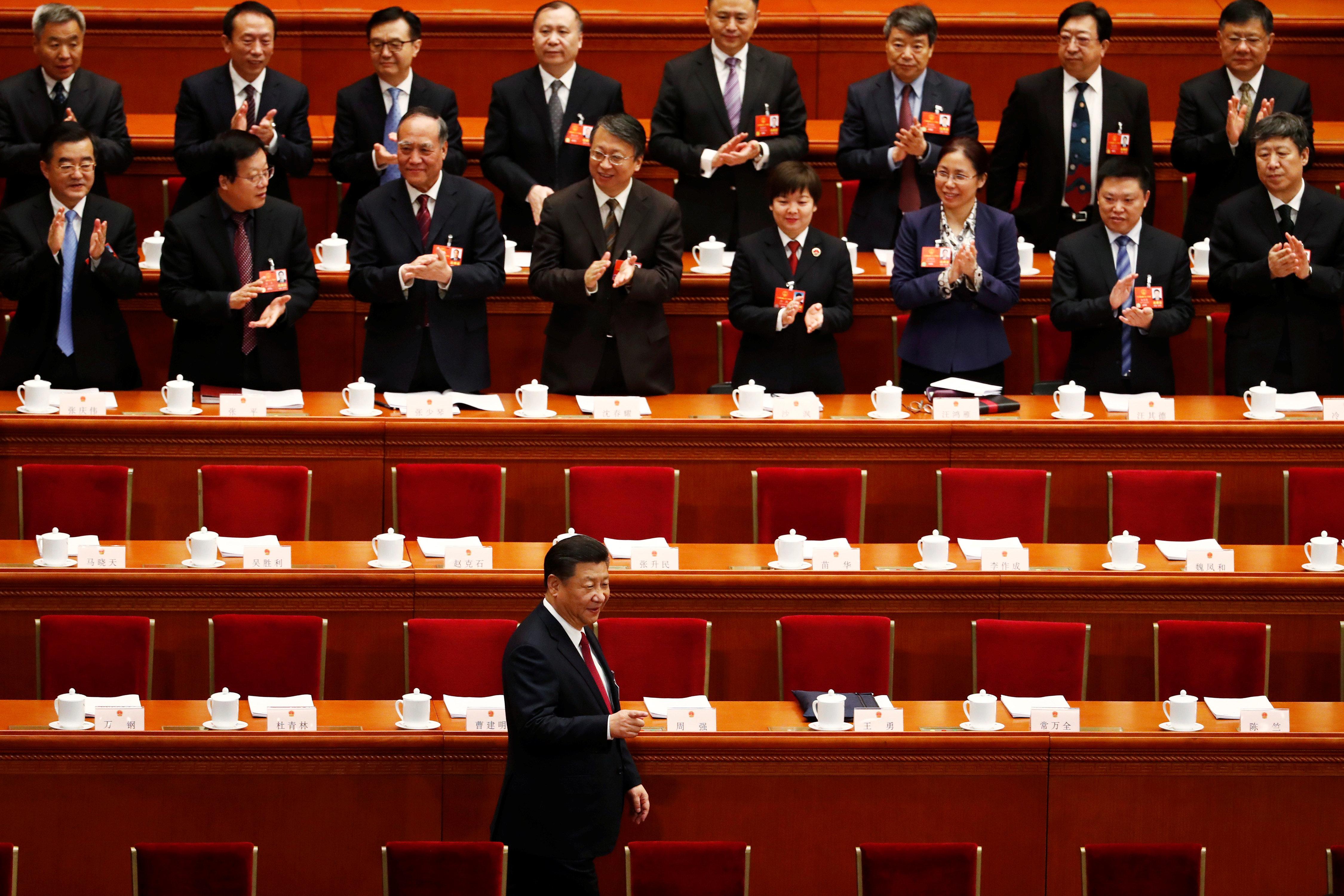 중국 새 헌법이 시진핑의 장기집권을 가능하게