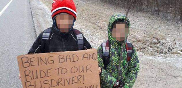 Fragwürdige Erziehungsmaßnahme: Mutter lässt Kinder 7 Kilometer zur Schule laufen, weil sie unfreundlich