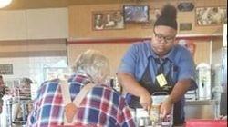 Μια σερβιτόρα βοηθάει έναν ηλικιωμένο. Και ξαφνικά το μεγαλύτερο όνειρό της γίνεται