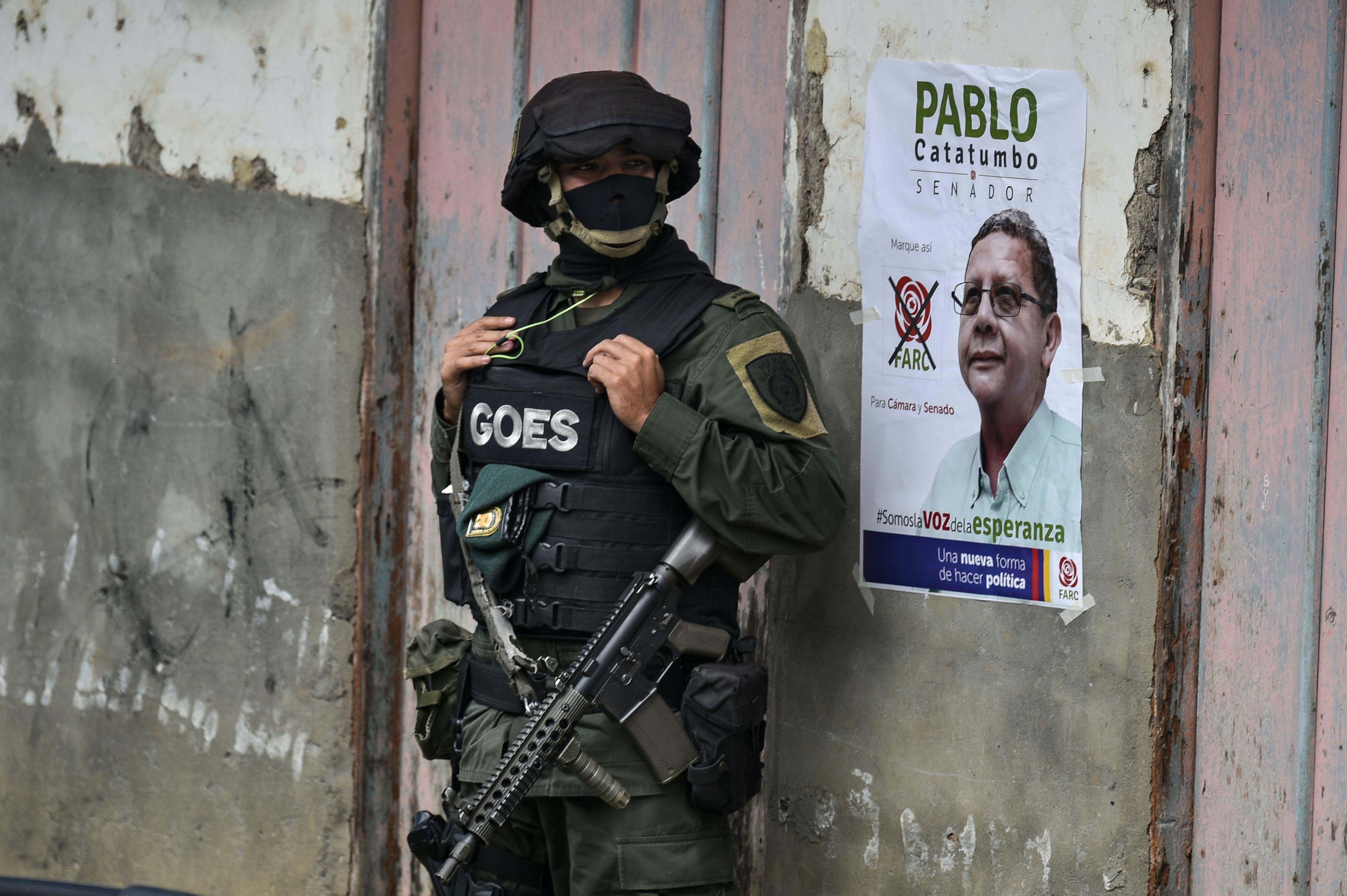 Οι βουλευτικές εκλογές στην Κολομβία κρίνουν την ειρήνη στη