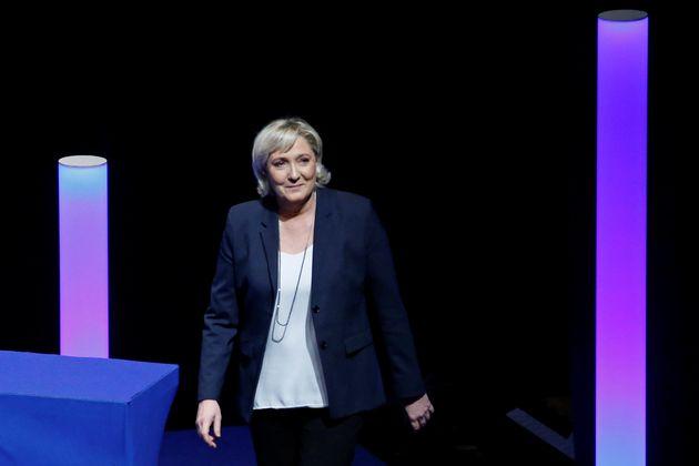 Η Μαριν λε Πεν ήταν η μόνη υποψήφια για την ηγεσία του κόμματός της, επανεξελέγη με το 100% των