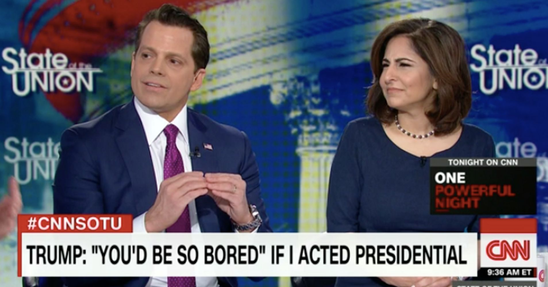 CNN Panel Rips Scaramucci After He Calls Trump 'Obviously ...