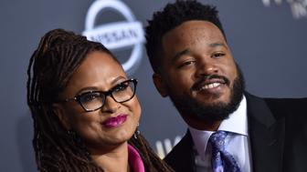 LOS ANGELES, CA - FEBRUARY 26:  Directors Ava DuVernay and Ryan Coogler arrive at the premiere of Disney's 'A Wrinkle In Time' at El Capitan Theatre on February 26, 2018 in Los Angeles, California.  (Photo by Axelle/Bauer-Griffin/FilmMagic)