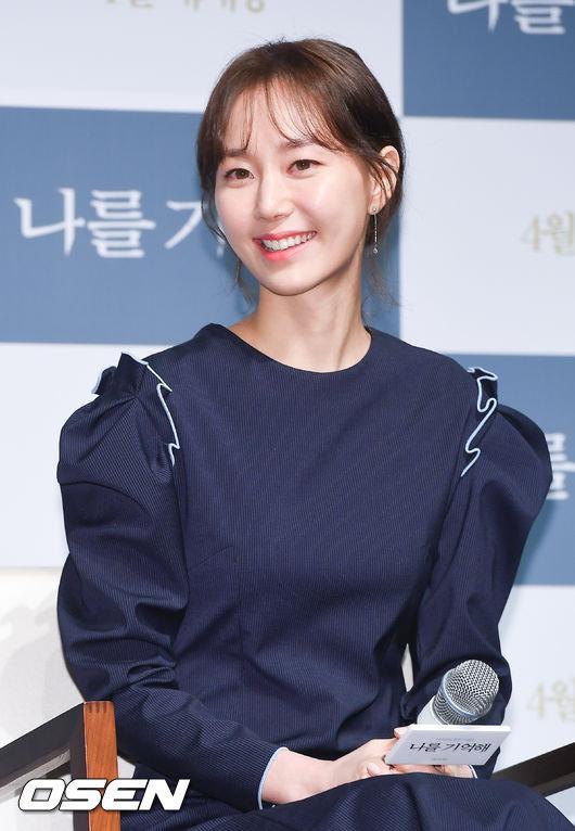 이유영이 공식석상에서 故김주혁을 언급했다