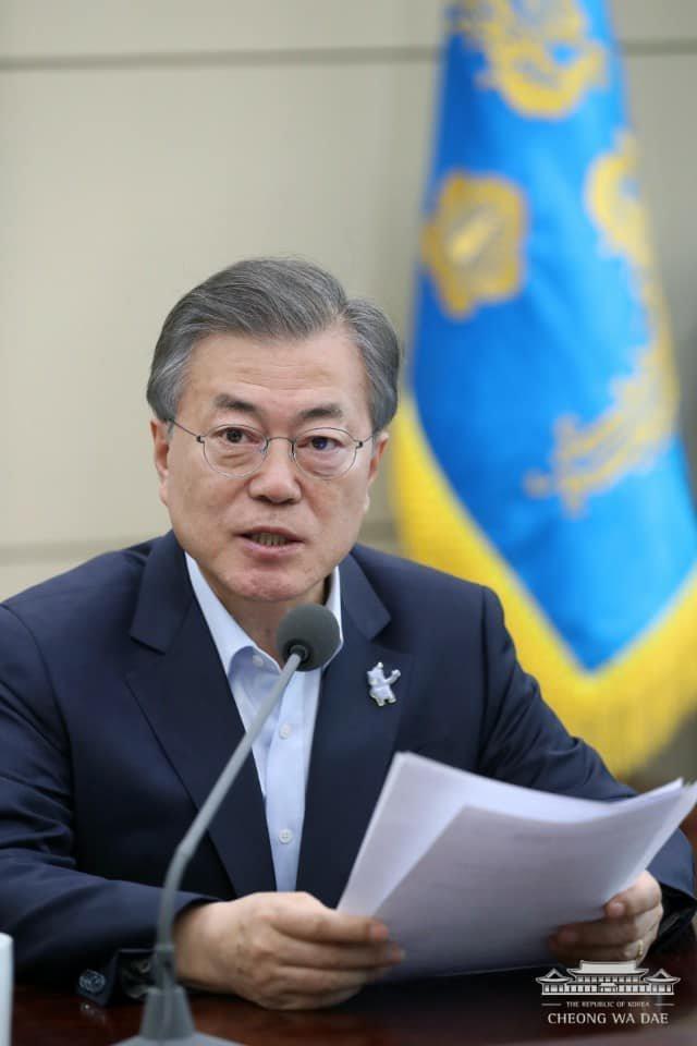 문재인 대통령이 '패럴림픽 중계가 많이 부족하다'며 꺼낸