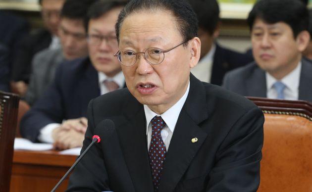 '하나은행 채용비리 의혹' 최흥식 금감원장