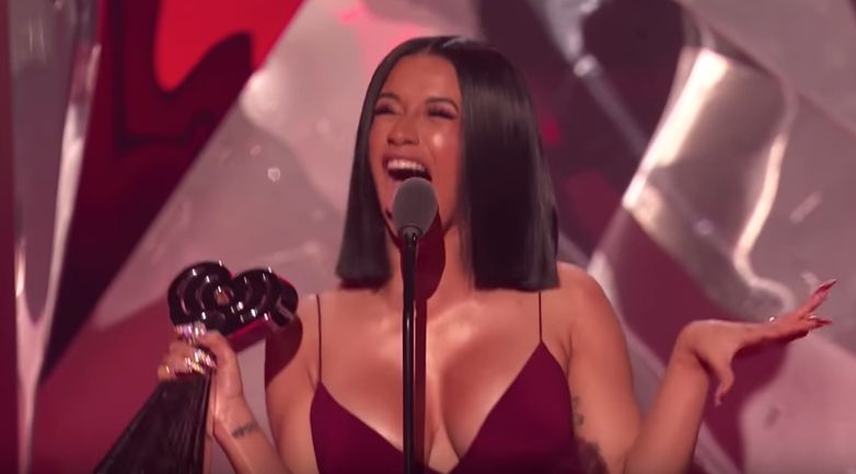 Cardi B's iHeartRadio Awards Speech Is Everything We Love About Her Summed Up In Two Minutes