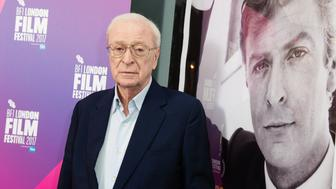 LONDON, ENGLAND - OCTOBER 08:  Michael Caine attends a screening of 'My Generation' during the 61st BFI London Film Festival on October 8, 2017 in London, England.  (Photo by Jeff Spicer/Getty Images)