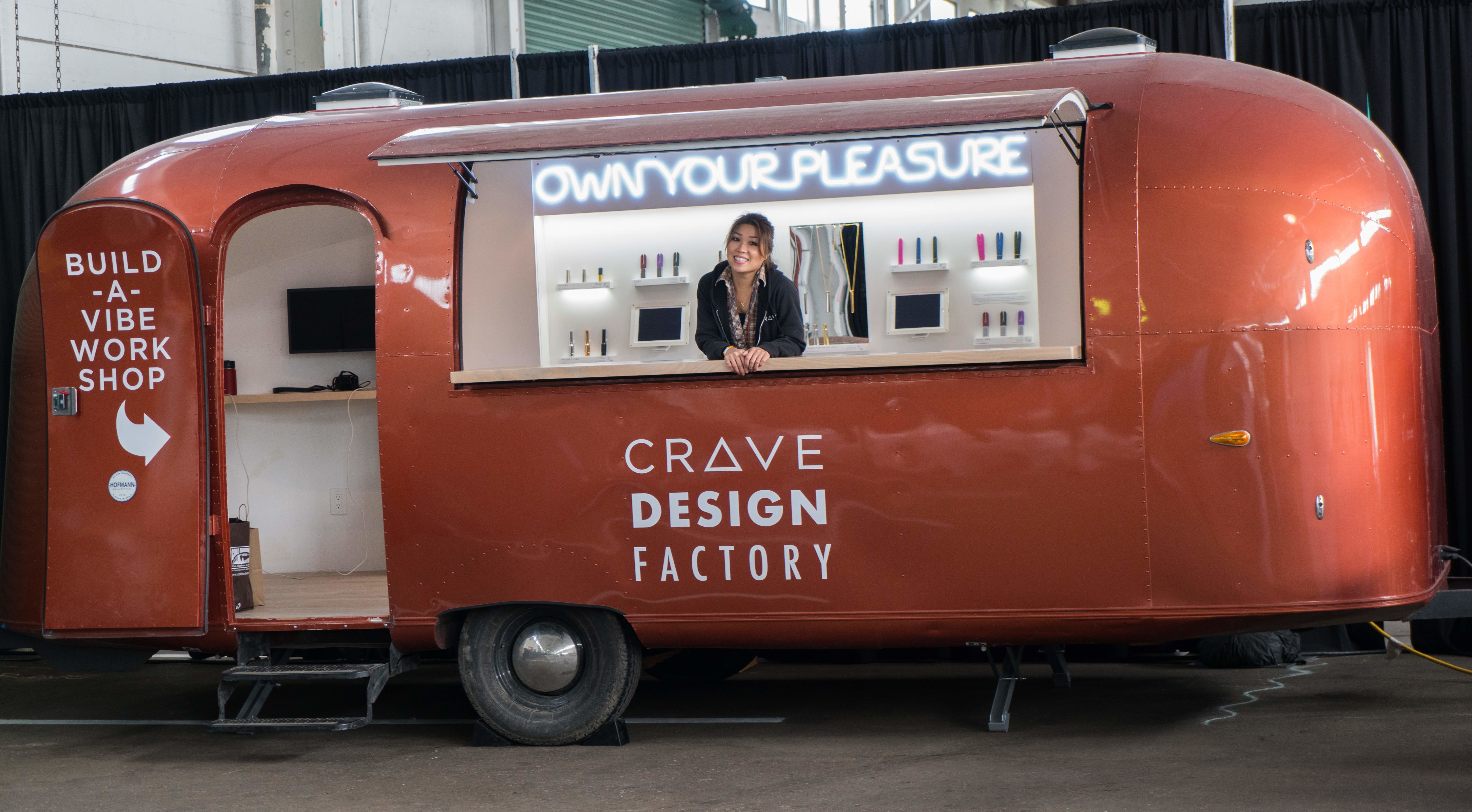 Ti Chang and the Crave Design Factory.