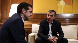 Και στη συνάντηση Τσίπρα - Θεοδωράκη το θέμα του ποδοσφαίρου. «Ο γόρδιος δεσμός πρέπει να κοπεί» είπε ο