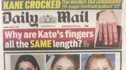 Britische Zeitung druckt ein Bild von Kates Fingern ab – und begeht einen peinlichen Fehler
