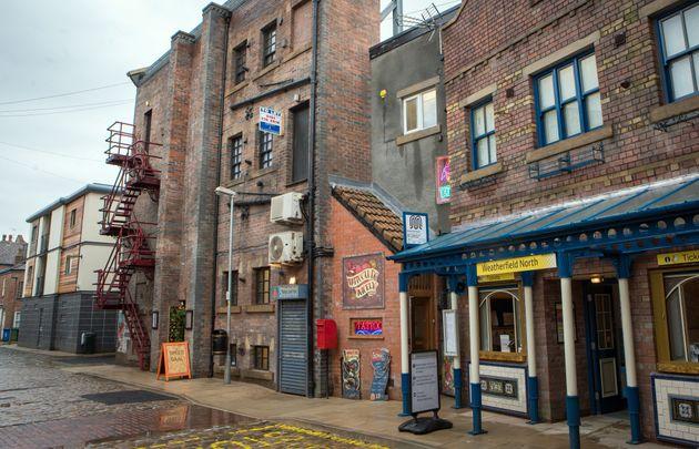 Coronation Street is filmed at ITV's Salford studios