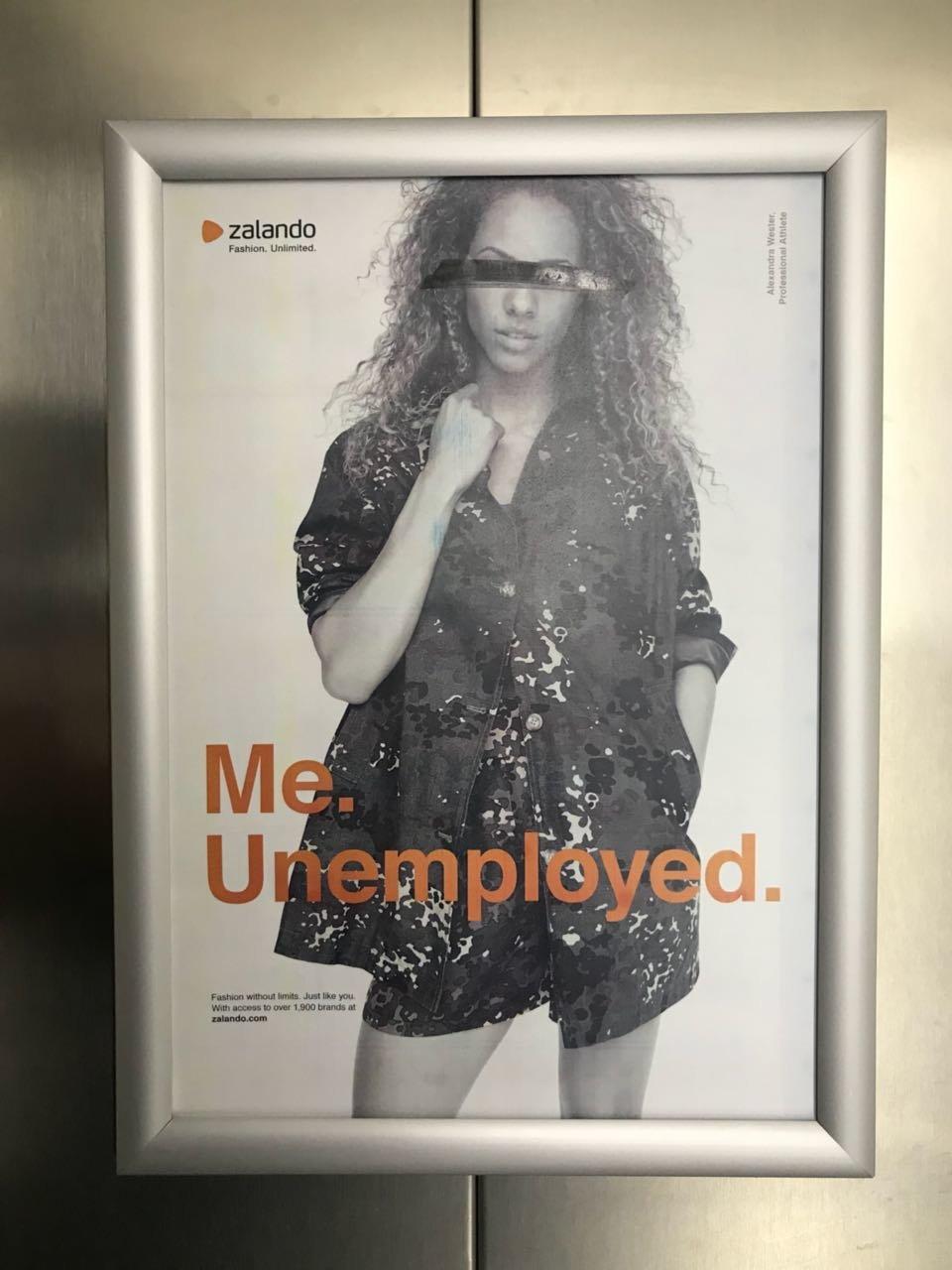 Zalando schmeißt Mitarbeiter raus – die stellen ihre Antwort direkt in der Firmenzentrale