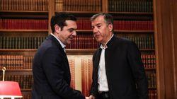 Συμφωνία Τσίπρα - Θεοδωράκη για τη συγκρότηση Συμβουλίου Εθνικής