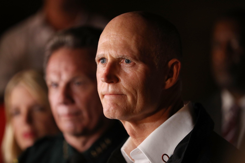 Florida Gov. Rick Scott Announces Senate Run
