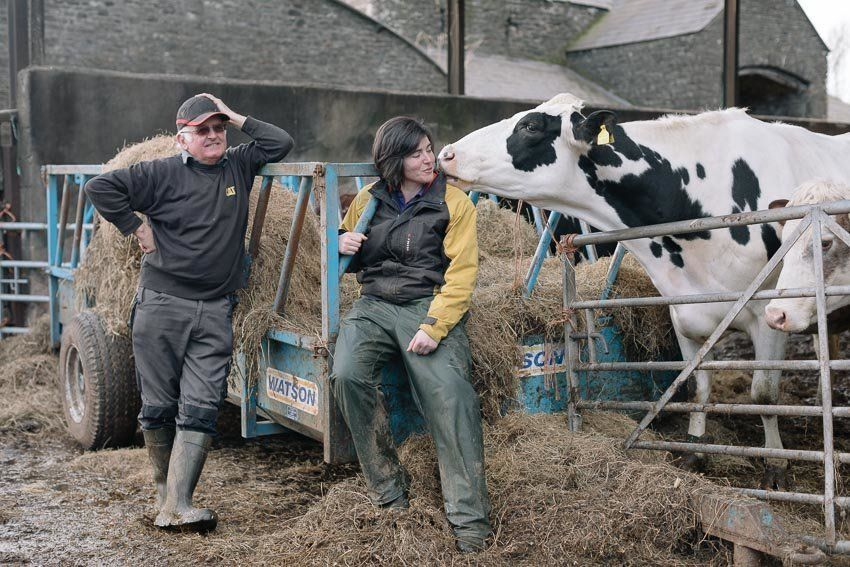 Two Generations Of Welsh Dairy Farmers Talk Brexit, Globalisation And The Role Of