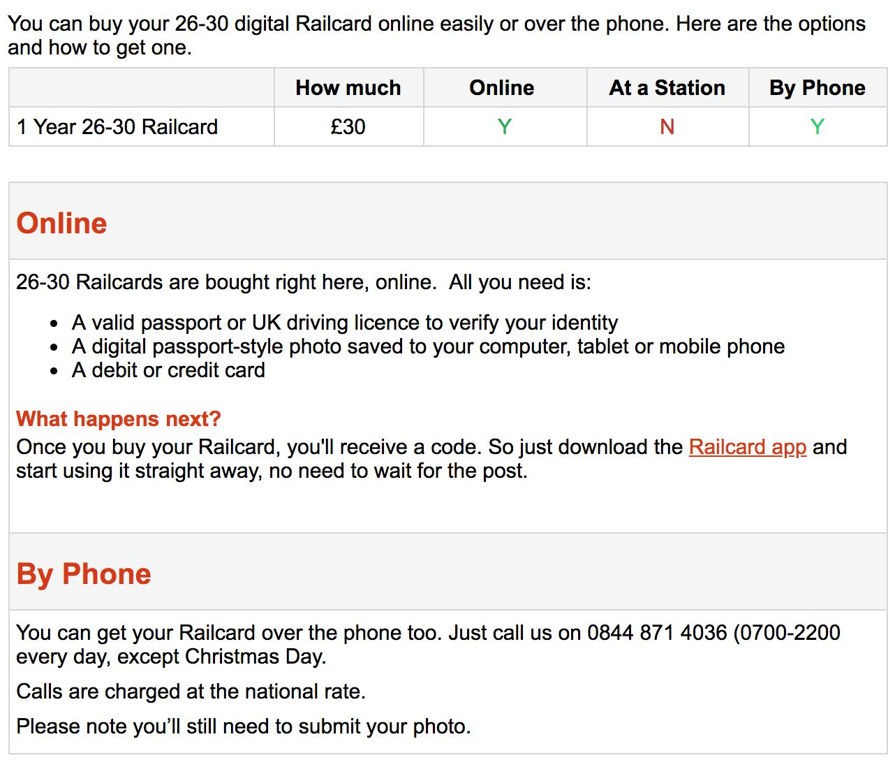 So many people wanted the new Millennial Railcard it crashed the website