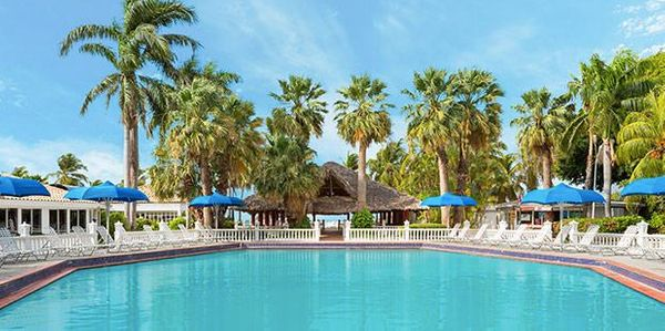 "Breakfast-included 4-night-stay at the Holiday Beach Resort & Casino. Travel dates: March through September. <a href=""htt"