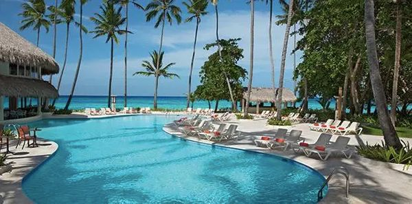 All-inclusive 4-night-stay the Sunscape Dominican Beach Punta Cana. Travel dates: April through Aug. 17. Select dates through