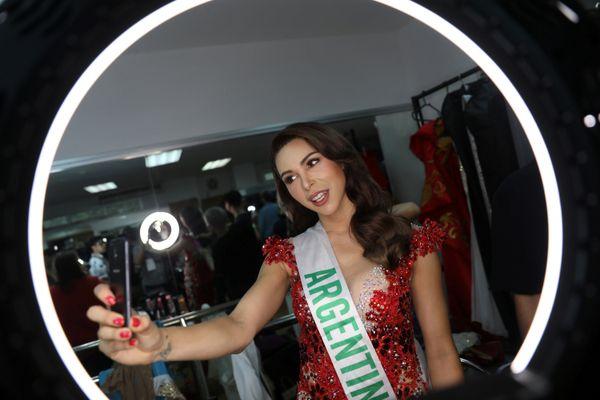 Contestant Sofia Solohaga of Argentina.