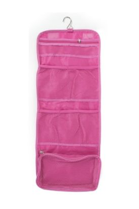 840ece6140ae Women s Travel Cosmetic Toiletry Pouch With Hanging Hook --  11