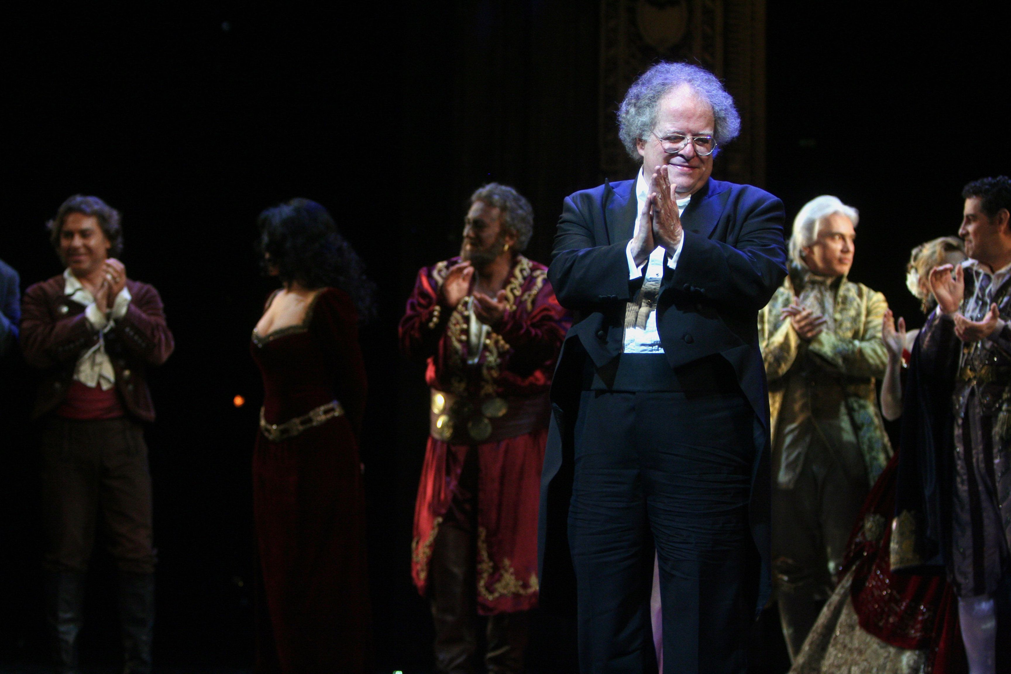 James Levine, seen here in 2009, served as a conductor with the Met for more than four decades.