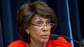 Representative Maxine Waters, a Democrat from California and ranking member of the House Financial Services Committee, questions witnesses during a hearing in Washington, D.C., U.S., on Wednesday, Oct. 25, 2017. The hearing was titled Examining the Equifax Data Breach. Equifax Inc., already reeling from American probes into the loss of data on 145.5 million customers in a computer hack, will face an investigation in the U.K., where 694,000 consumers had information stolen. Photographer: Andrew Harrer/Bloomberg via Getty Images