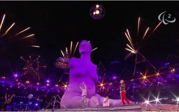 런던패럴림픽 개막식의 한 장면. (패럴림픽 공식 유튜브 채널