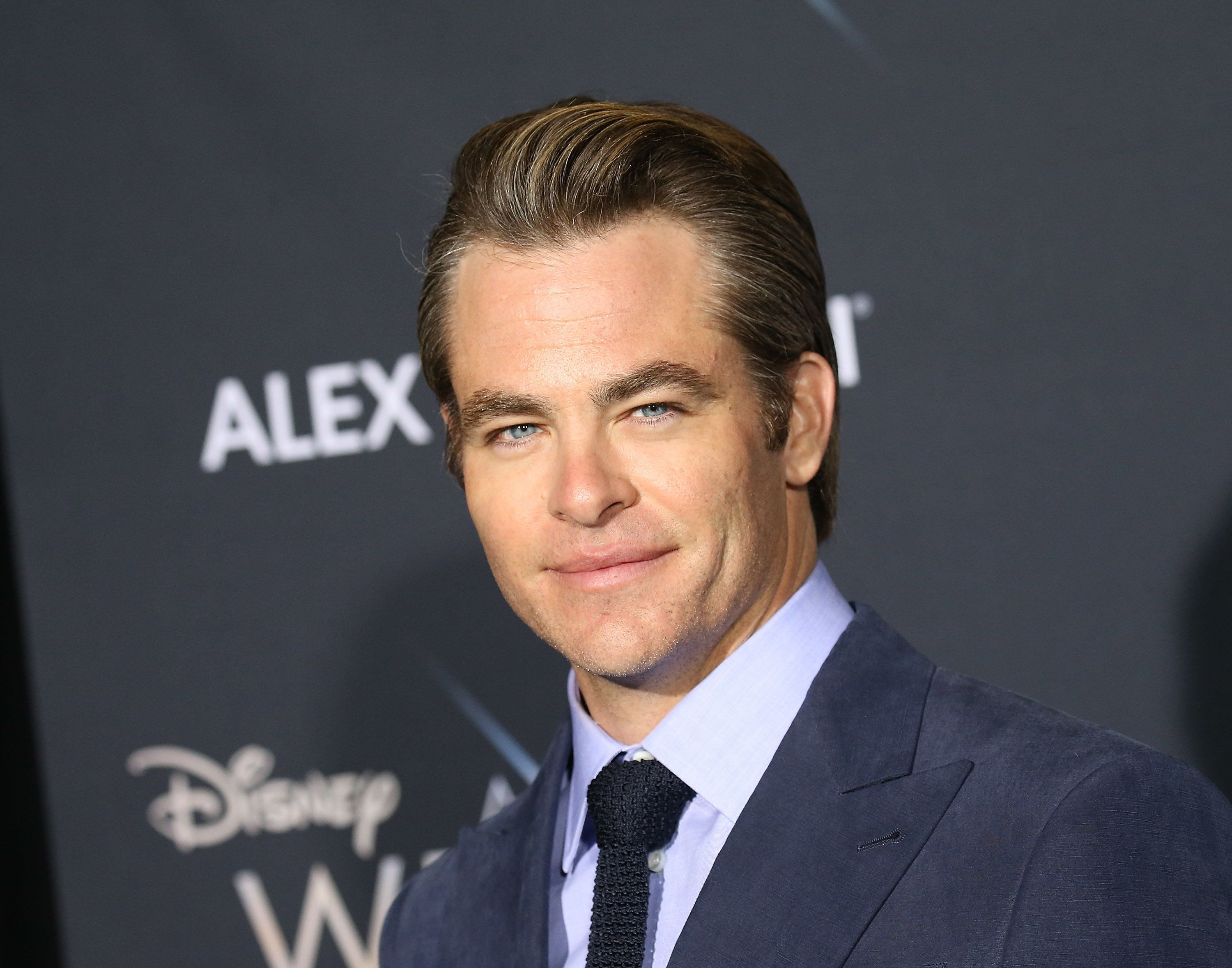 LOS ANGELES, CA - FEBRUARY 26:  Chris Pine arrives at the Los Angeles premiere of Disney's 'A Wrinkle In Time' held at El Capitan Theatre on February 26, 2018 in Los Angeles, California.  (Photo by Michael Tran/FilmMagic)