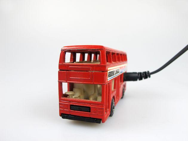 서울 시내에 전기버스가