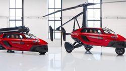 Το πρώτο ιπτάμενο αυτοκίνητο είναι εδώ για να σας γλυτώσει από το μποτιλιάρισμα. Μόνο που είναι