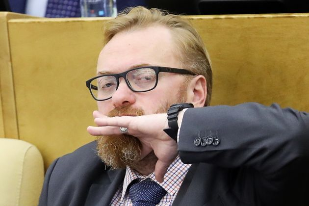 Vitaly Milonov compared Britain to Hitler over the 'fake news' of the Salisbury