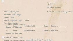 Τι έγραφε ο 18χρονος Steve Jobs σε μια ιδιόχειρη αίτηση για δουλειά το 1973, η οποία βγαίνει σε