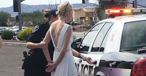 Bride Busted For DUI On The Approach To Her Wedding ceremony
