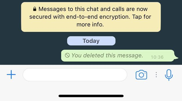 WhatsApp Now Gives You An Hour To Unsend Those