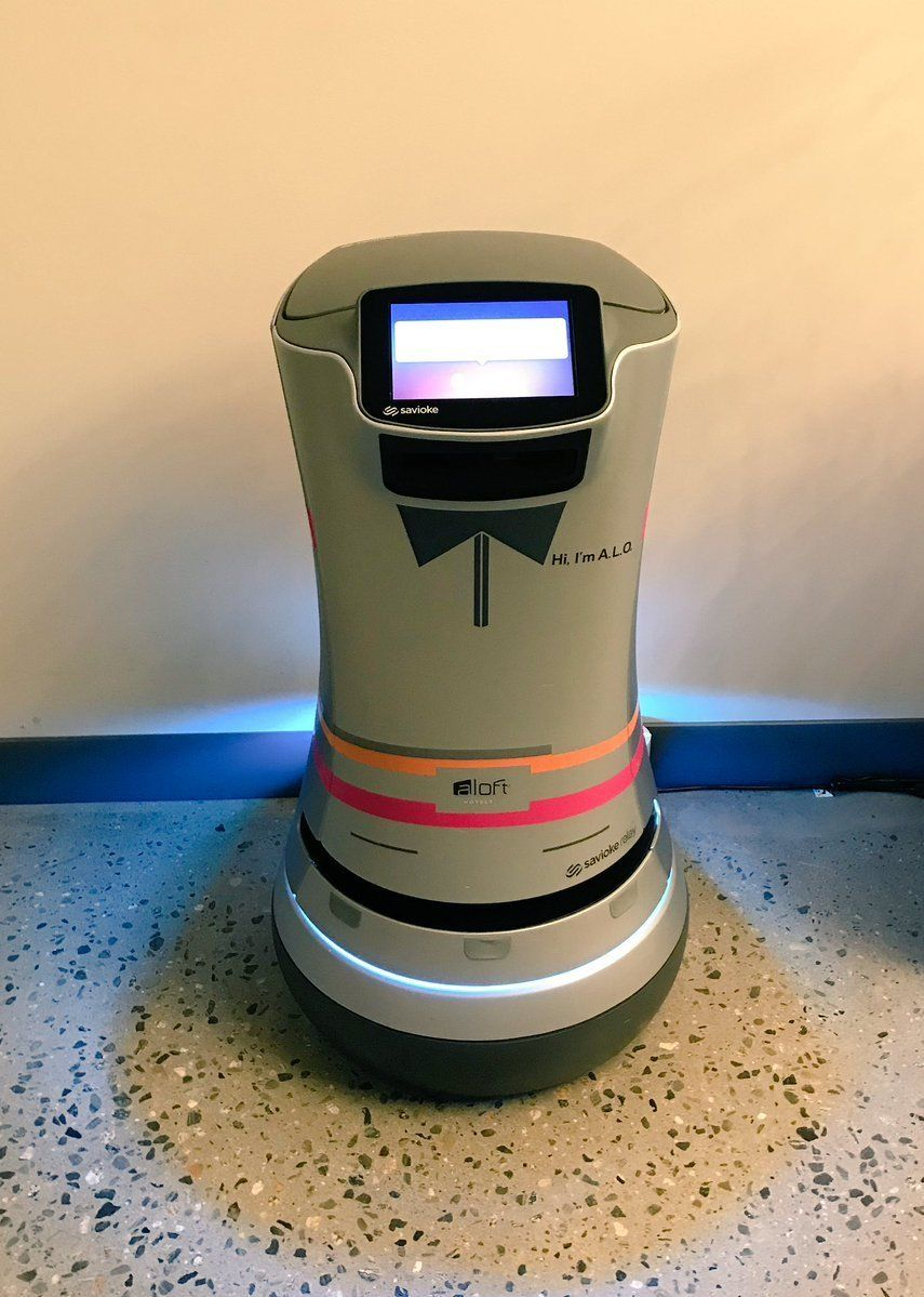 This Hotel Has A Robot Butler To Bring You Midnight Snacks