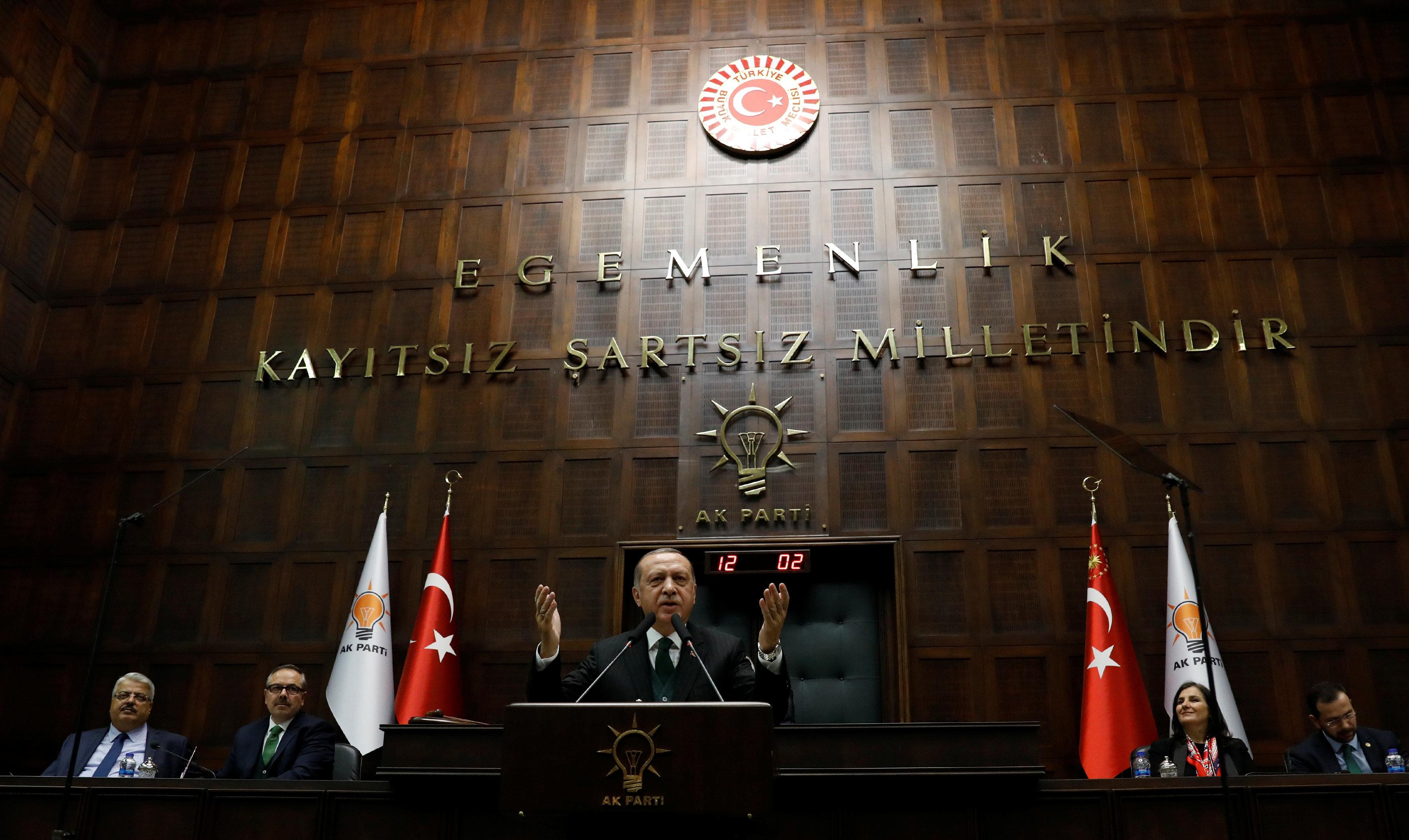 Türkisches Parlament verabschiedet Änderung des Wahlgesetzes