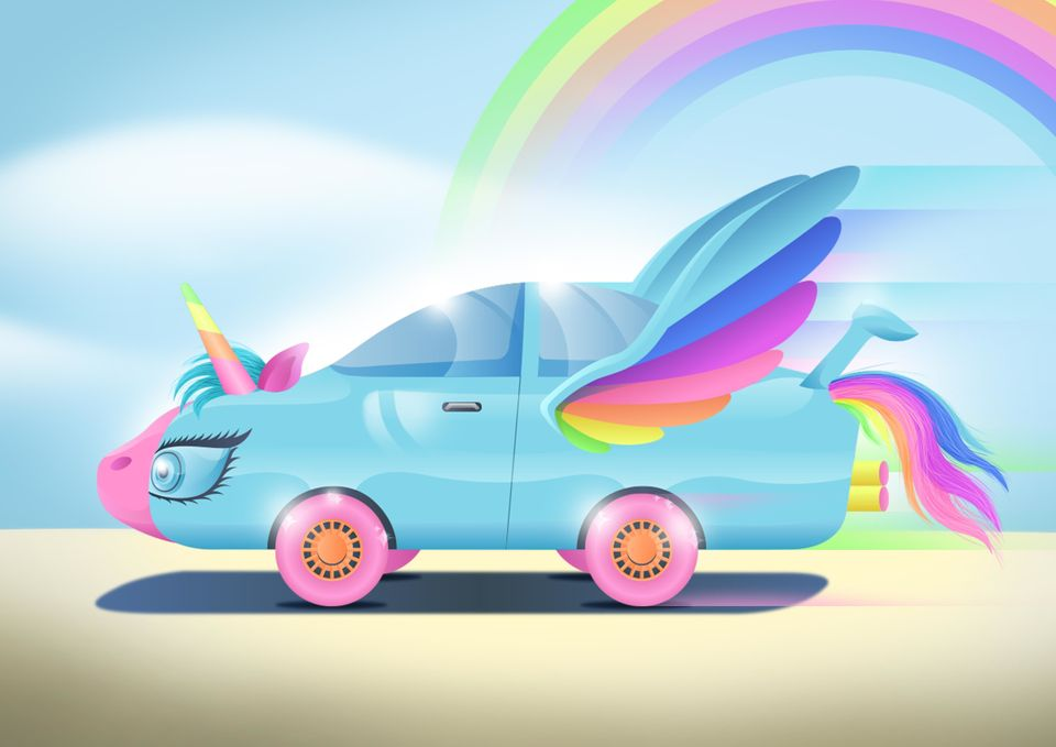 Kids Drawings Of The Cars Future Show How Forward Thinking They