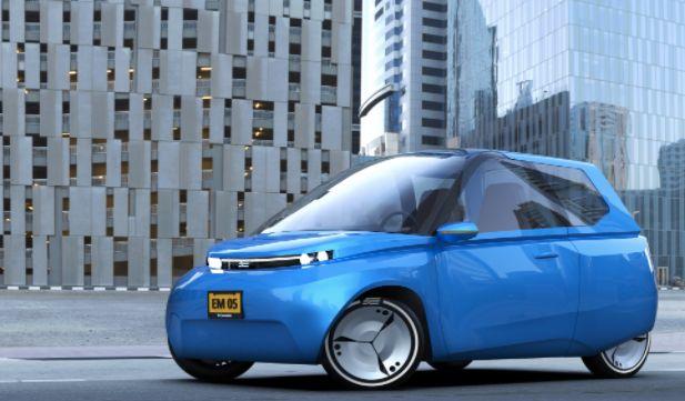 Niederländische Studenten haben ein Elektroauto entwickelt, das ihr als Bio-Müll entsorgen