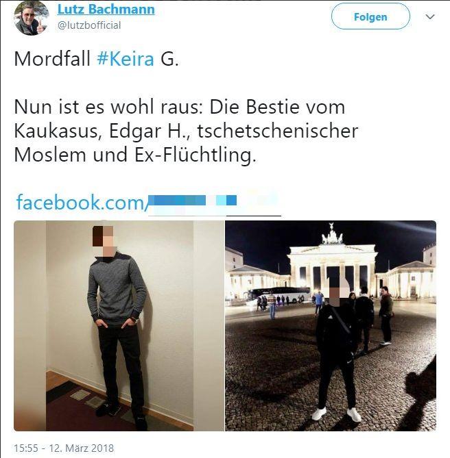 Ermittlungen gegen Pegida-Gründer Lutz Bachmann wegen Keira