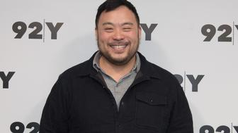 NEW YORK, NY - MARCH 06:  David Chang attends 'Ugly Delicious' With David Chang at 92nd Street Y on March 6, 2018 in New York City.  (Photo by Yuchen Liao/Getty Images)