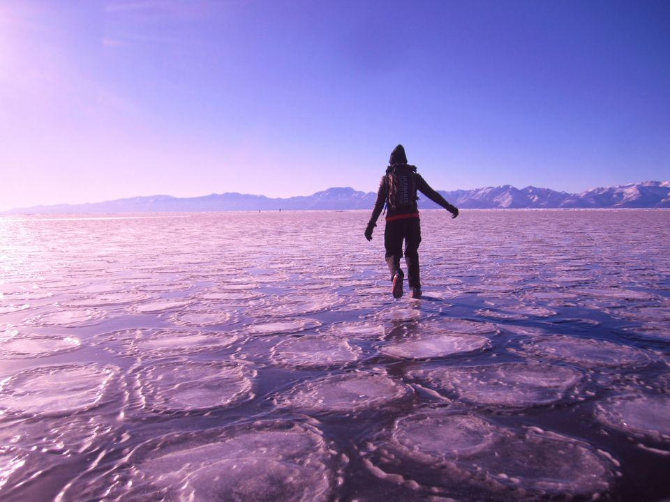 Being The First Woman To Run 100 Miles Over A Frozen Lake Taught Me About My Own Mental
