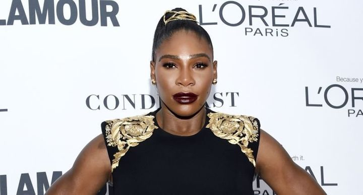 Serena Williams attends the 2017 Glamour Women of the Year Awards in New York.