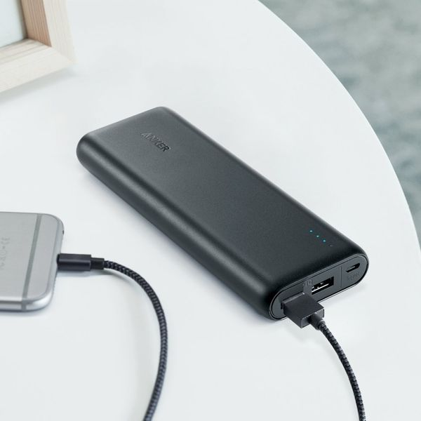 """Get the Anker Portable Charger <a href=""""https://www.amazon.com/Anker-20100mAh-Portable-Charger-PowerCore/dp/B00X5RV14Y/ref=sr"""
