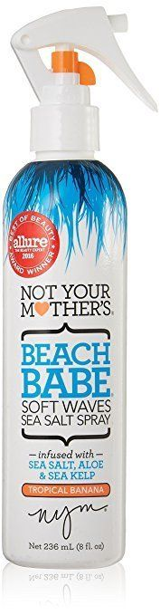 """Get the Not Your Mother's Sea Salt Spray <a href=""""https://www.amazon.com/Not-Your-Mothers-Tropical-Banana/dp/B01EVQ39X8/ref=s"""